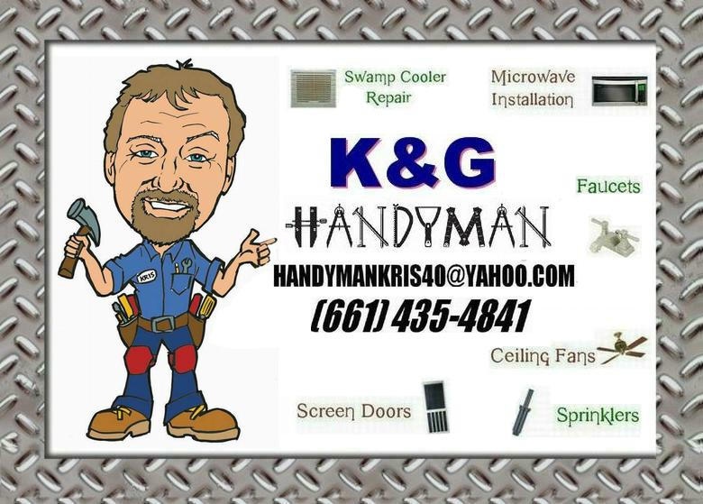 Handyman Antelope Valley CA|Palmdale CA Lancaster CA