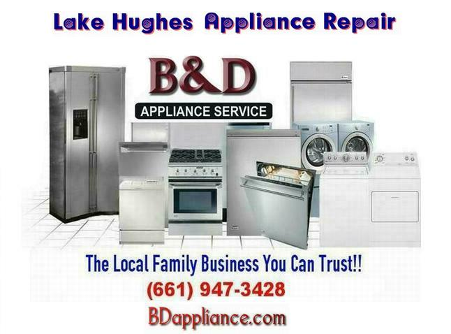 Appliance repair parts lake hughes ca