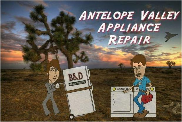 Appliance Repair Antelope Valley, California